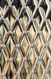 Struttura metallica dell'oro Fotografie Stock