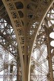 Struttura metallica, torre Eiffel Immagine Stock Libera da Diritti