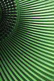 Struttura metallica verde Fotografia Stock Libera da Diritti