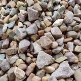 Struttura mista della roccia del fiume fotografie stock