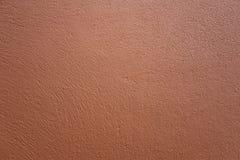 Struttura moderna del muro di cemento marrone liscio fotografia stock