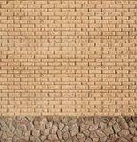 Struttura moderna del muro di mattoni dell'ardesia Immagine Stock