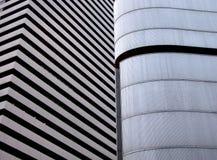 Struttura moderna della costruzione Immagini Stock Libere da Diritti