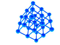 Struttura molecolare Immagini Stock Libere da Diritti