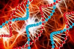 Struttura molecolare Immagine Stock Libera da Diritti