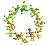 Struttura molecolare Fotografia Stock