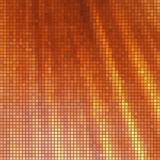 Struttura (mosaico arancio) Fotografie Stock
