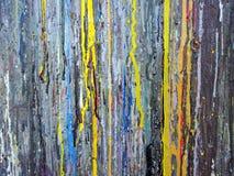 Struttura multicolore astratta della pittura Fotografie Stock Libere da Diritti