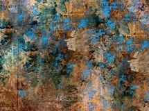 Struttura multicolore metallica Fotografia Stock