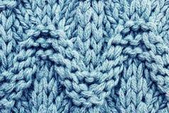 Struttura multicolore tricottata del tessuto di lana. Tessuto di alta risoluzione Fotografia Stock