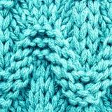 Struttura multicolore tricottata del tessuto di lana. Tessuto di alta risoluzione Fotografia Stock Libera da Diritti