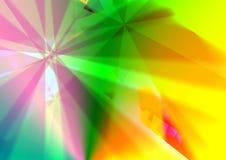 Struttura multy al neon di colore di Crystal Abstract con bello effetto digitale royalty illustrazione gratis