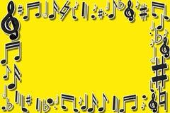 Struttura musicale Fotografie Stock Libere da Diritti