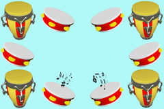 Struttura musicale Fotografie Stock