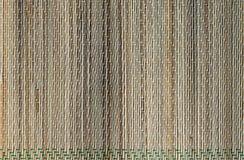 Struttura naturale del tappeto del tessuto della stuoia Fotografie Stock
