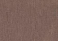 Struttura naturale del tessuto di Brown Fotografia Stock
