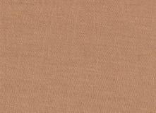 Struttura naturale del tessuto di Brown Immagini Stock