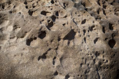 Struttura naturale della roccia Fotografie Stock