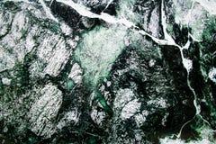 Struttura naturale di marmo verde Fotografia Stock Libera da Diritti