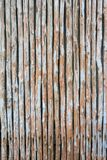 Struttura naturale senza cuciture della parete di bambù verticale immagini stock