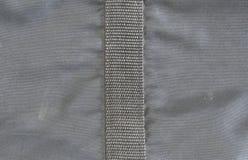 Struttura nera della borsa del tessuto sintetico Immagine Stock