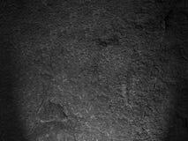 Struttura nera della roccia Fotografie Stock