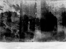 Struttura nera di Grunge illustrazione vettoriale