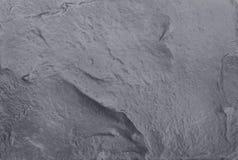 Struttura nera grigio scuro dell'ardesia nel modello naturale con l'alta risoluzione per fondo Immagini Stock