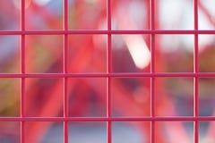 Struttura netta del materiale di base del metallo Fotografia Stock