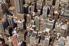Struttura New York del fondo delle costruzioni Fotografia Stock Libera da Diritti