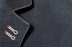 Struttura o fondo del vestito Immagini Stock