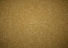 Struttura o fondo della tela dell'oro Immagini Stock Libere da Diritti