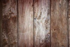 Struttura o fondo di legno della plancia Fotografia Stock Libera da Diritti