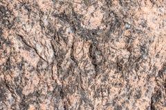 Struttura o fondo di pietra Granito crudo Fotografia Stock Libera da Diritti