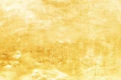 Struttura o ombra del fondo e di pendenza dell'oro fotografia stock