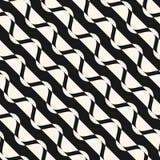 Struttura ondulata diagonale delle bande Stile di modo dei pantaloni a vita bassa Fotografie Stock Libere da Diritti