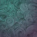 Struttura ondulata lineare variopinta Fotografia Stock Libera da Diritti