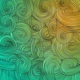 Struttura ondulata lineare variopinta Immagini Stock Libere da Diritti