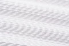 Struttura ondulata a strisce del Libro Bianco, fondo astratto Fotografie Stock