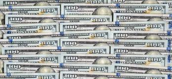 Struttura ordinata con i dollari Immagine Stock Libera da Diritti