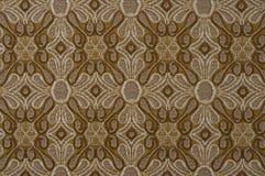 Struttura ornamentale del tessuto Fotografia Stock