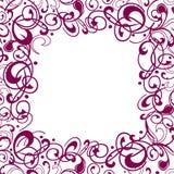 Struttura ornamentale quadrata Immagini Stock