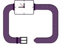 Struttura - orologio illustrazione vettoriale