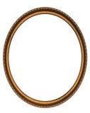 Struttura ovale di legno fotografie stock