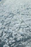 Struttura pattinante dell'anello del ghiaccio Fotografia Stock