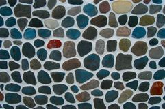 Struttura: pavimentazione cobbled Fotografie Stock