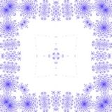 Struttura piega quadrata blu generata royalty illustrazione gratis