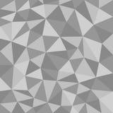 Struttura poligonale in bianco e nero Fotografia Stock