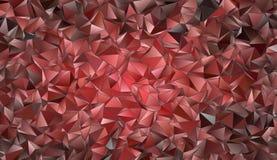 Struttura poligonale del fondo astratto Fotografia Stock
