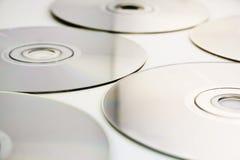 Struttura/priorità bassa CD Fotografie Stock Libere da Diritti